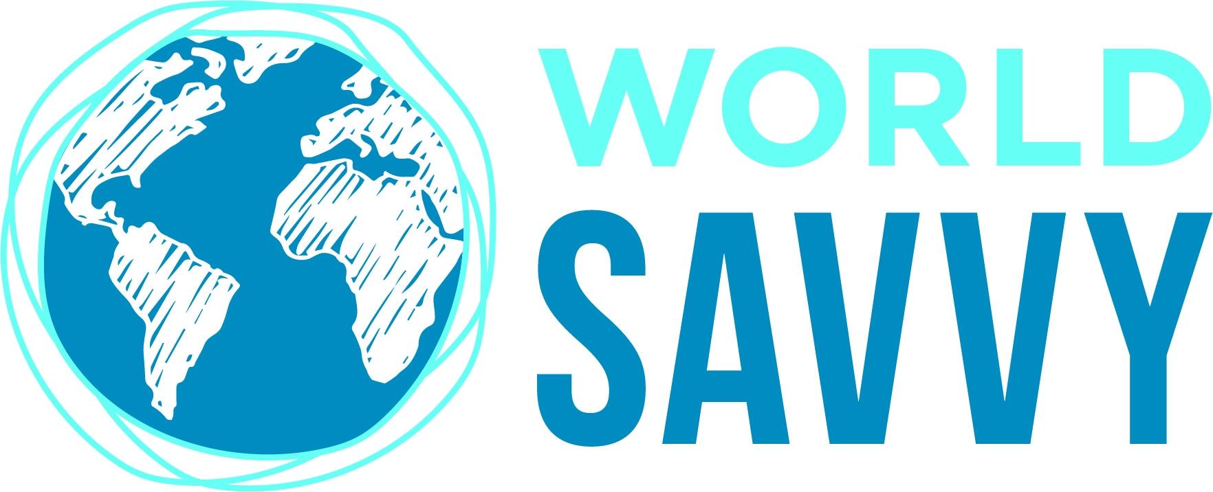 World Savvy Primary Logo Cmyk